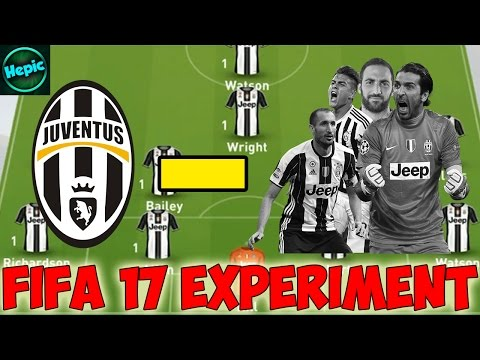 WHAT IF JUVENTUS LOST ALL OF THEIR PLAYERS, COULD THEY REBUILD? - FIFA 17 CAREER MODE EXPERIMENT