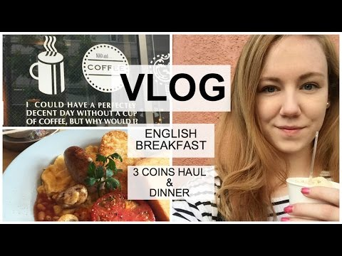 Vlog | English Breakfast in Tokyo & 3 Coins Haul!!!