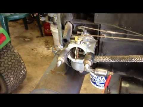25 hp Kawasaki surging #1 | FunnyCat.TV