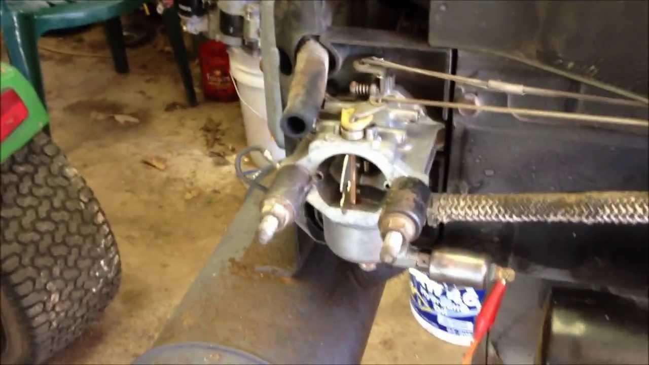 John Deere Starter Wiring Diagram Kawasaki 17hp Youtube
