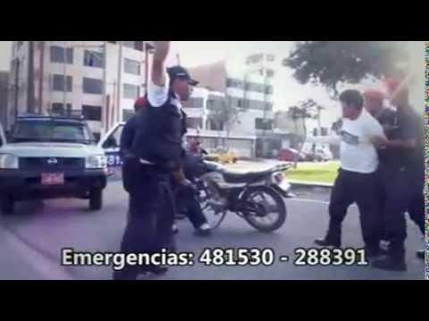 UNIDOS CONTRA EL CRIMEN  EN VICTOR LARCO HERRERA