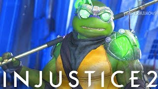 "Injustice 2: How To Play The Ninja Turtles ""Donatello"" - Injustice 2 ""Ninja Turtles"" Gameplay"
