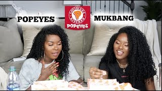 POPEYES MUKBANG | ANSWERING YOUR RANDOM QUESTIONS