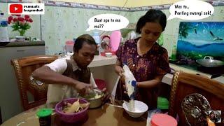 Pisang Kepok Jadi Makanan ennak(masak bareng Suami Ges)
