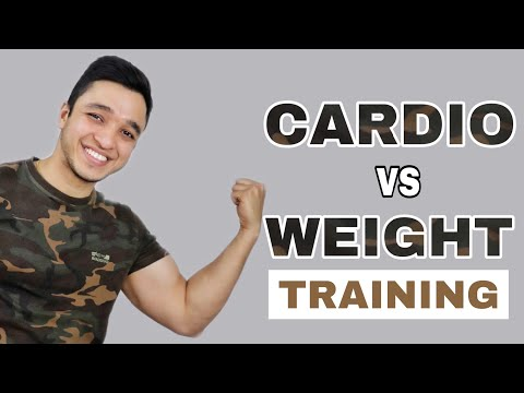 CARDIO vs WEIGHT TRAINING- Which is BETTER for Weight Loss | Info by Nikhil Agrawal