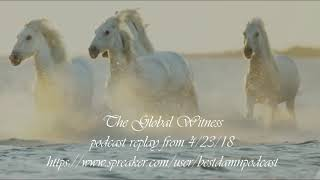 PODCAST REPLAY-THE HARD QUESTIONS FOR THE GLOBAL WITNESS
