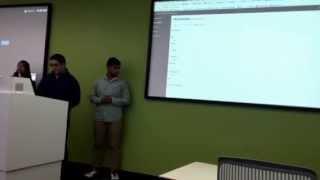 E4T event management portal demo at Google Tech corners