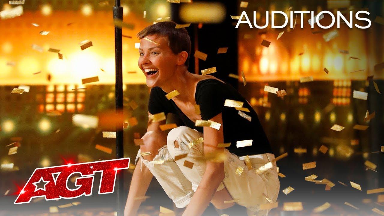 Download Golden Buzzer: Nightbirde's Original Song Makes Simon Cowell Emotional - America's Got Talent 2021