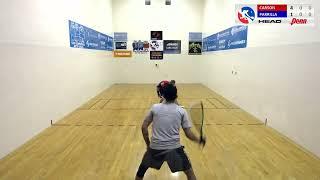 International Racquetball Tour: Fullerton Singles Semi Finals: Rocky Carson vs Andree Parrilla