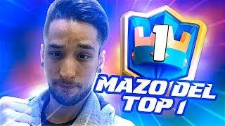 EL MAZO QUE ESTÁ DESTRUYENDO TODO !! TOP #1 MUNDIAL !! - DrekzeNN - Clash Royale