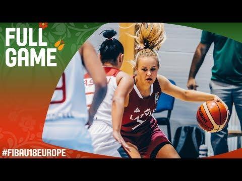 Turkey v Latvia - Full Game - Classification 13-16 - FIBA U18 Women's European Championship 2017