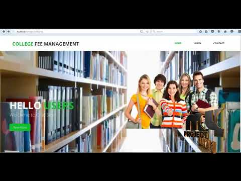 Monitoring a Payment of College Fees System | Final Year Projects 2018 - 2019