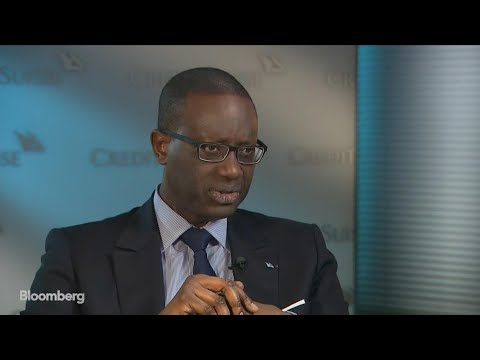 Credit Suisse CEO Thiam Discusses  Trading Unit, Client Sentiment, Cost Savings