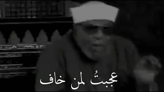 الشيخ الشعراوي ||  حالات واتس دينية مؤثرة قصيرة || الشيخ الشعراوي