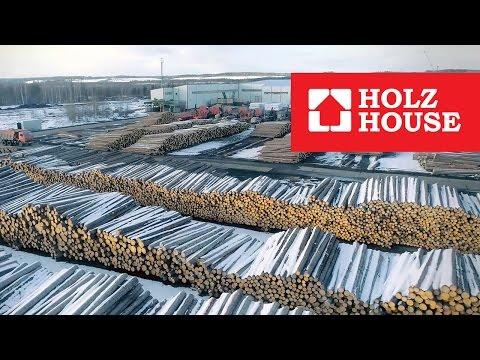 HOLZ HOUSE. 1-я очередь (лесопиление) 3-го завода компании по производству клееного бруса.