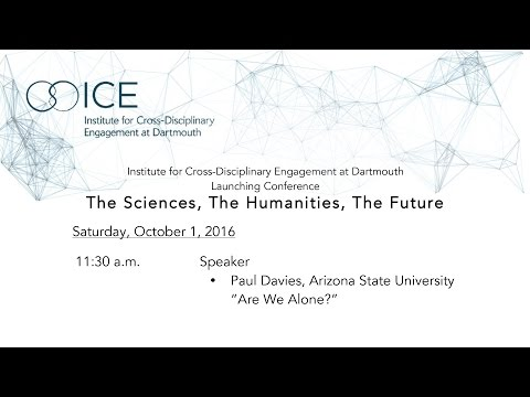 ICE Launching Conference - Paul Davies