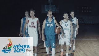 2nd European Games 2019 Basketball Trailer
