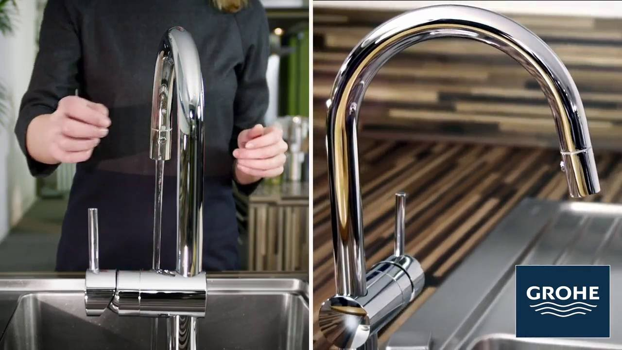Grohe Minta Touch - YouTube