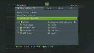 New Xbox Experience - Xbox LIVE Party [Part 2]