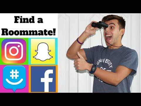 HOW TO FIND A ROOMMATE USING SOCIAL MEDIA