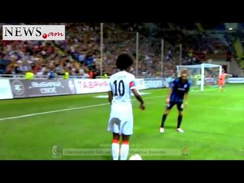 Henrikh Mkhitaryan   44 goals for Shakhtar Donetsk mp4
