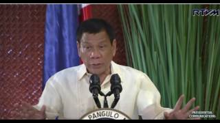 President Rodrigo Duterte to Pardon Cops and Military Wrongly Accused and to Pardon Self