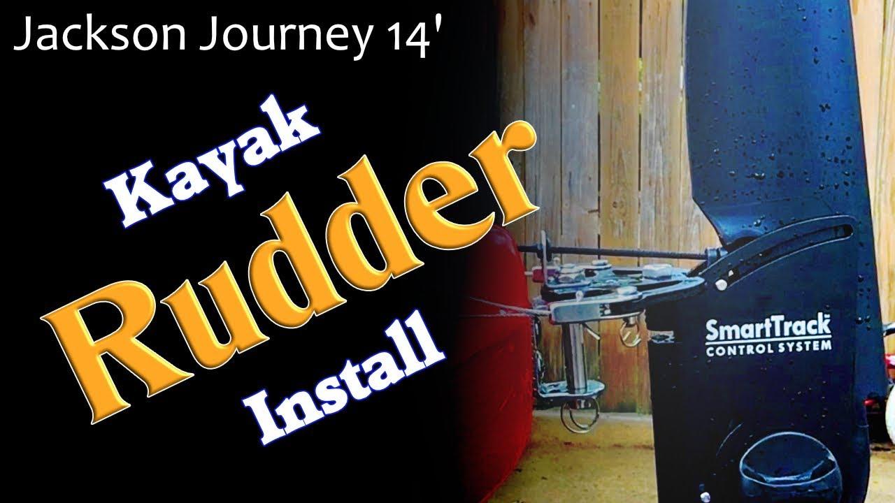 Kayak Rudder Install