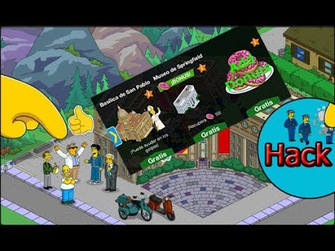 the simpsons tapped out 4.2.1 mod apk(unlimited donut and money)