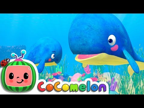 Mom and Baby Blue Whale Lullaby - ABCkidTV