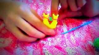 Урок 1. Базовый браслет из резинок.Для начинающих.