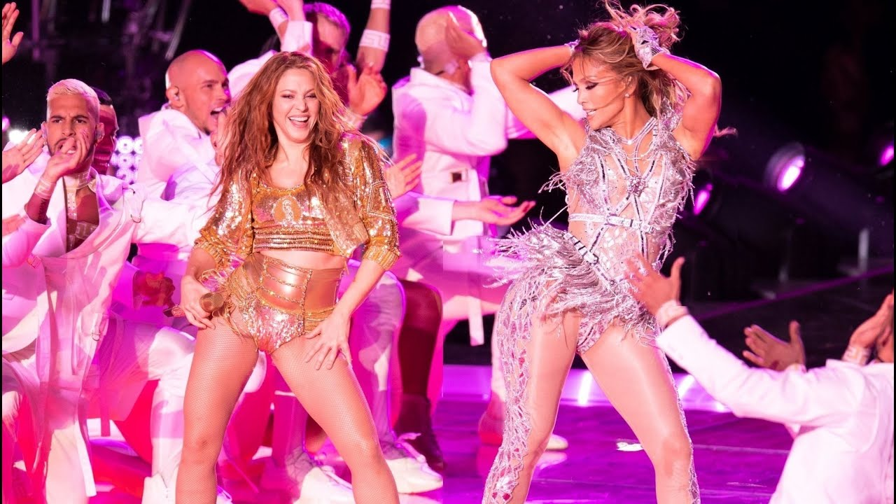 J Lo Shakira 4k Super Bowl Liv Halftime Full Hd Audio Show Behind The Scenes Rehearsales Youtube