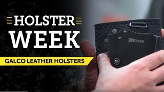 USCCA Holster Week: Galco Leather Holsters