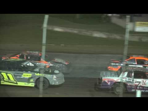 Holley USRA Stock Car Iron Man Challenge feature Upper Iowa Speedway 5/28/17