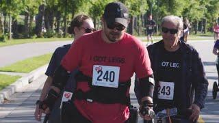 Paralyzed Man Becomes First to Walk Half Marathon Using Exo-Skeleton