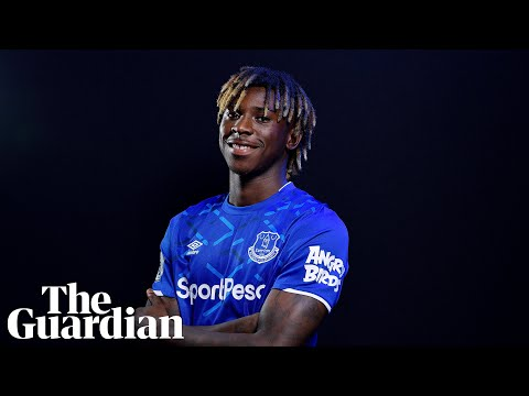 Moise Kean: 'What I want is to bring Everton into the Champions League'