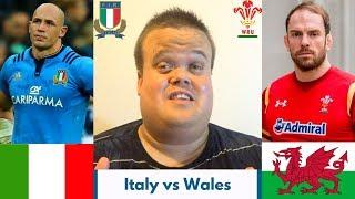 Italy vs Wales RECAP   Six Nations 2019 Round 2