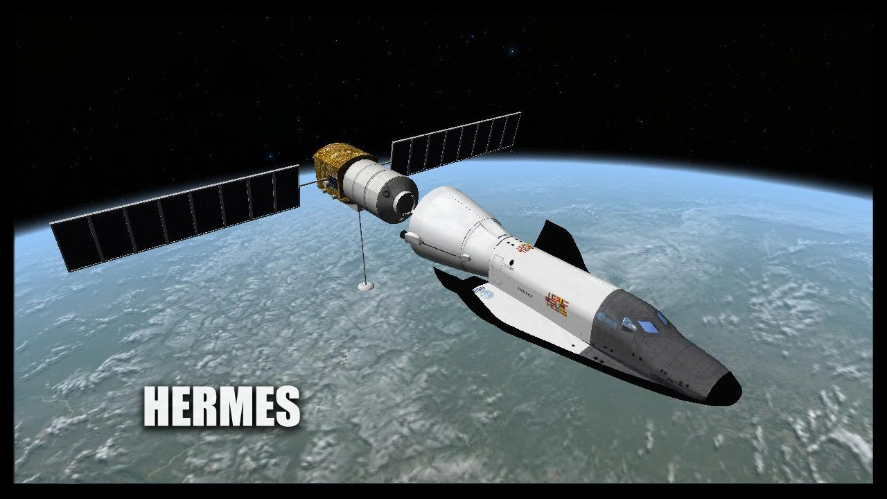Hermes Orbiter Space Flight Simulator 2010 YouTube