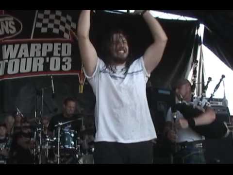 Dropkick Murphys-Worker's Song[Live 2003 with Andrew WK]