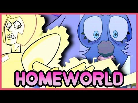 "Steven Universe HOUR LONG HOMEWORLD SPECIAL! New ""WANTED"" Promo! - Steven Universe News"