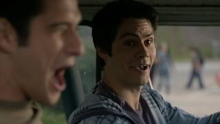TeenWolf 6A Bloopers |russ sub| Волчонок 6А Закадр...