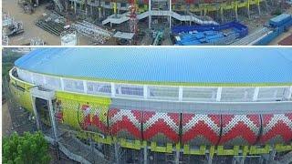 Update Stadion Jatidiri Semarang  !!! 95%  Ga nonton rugi. Wes RA sabar balek kandang. kursi ditata