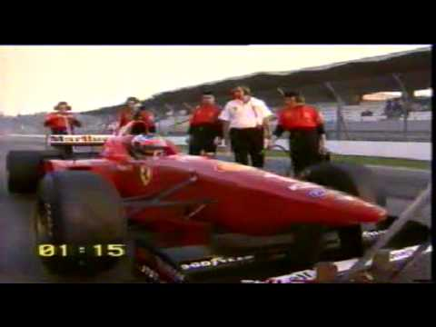Fiat F1 97 vs Ferrari 550 Maranello  With Michael Schumacher