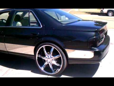 Cadillac Seville Sittn On 24 S Youtube