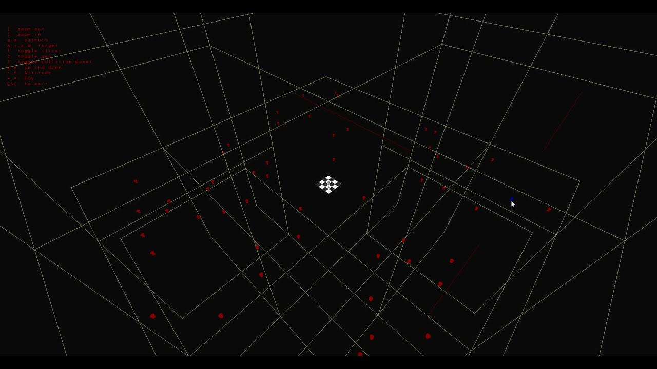 Octree Spatial Partitioning Test