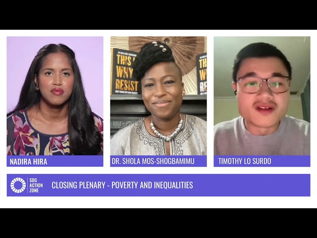 Closing Plenary – Poverty and Inequalities