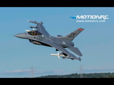 Freewing F-16 90mm EDF Flight Demo