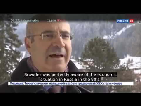 Crooked Bankster Bill Browder Released in Spain, Despite Being Sentenced For Thievery in Russia
