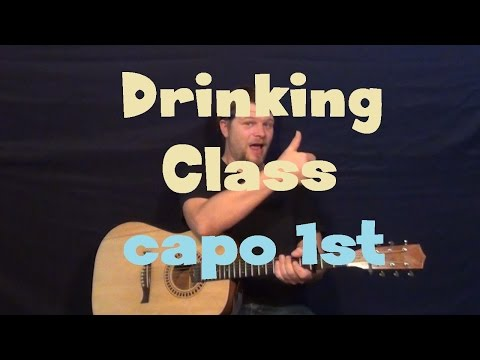 Drinking Class (Lee Brice) Easy Guitar Lesson How to Play Tutorial
