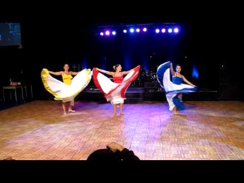 TRU International Days 2013 - Colombian cumbia-styled dance