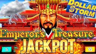 High Limit Dollar Storm Slot Machine HANDPAY JACKPOT | My 1st Ever Handpay On New Dollar Storm Slot